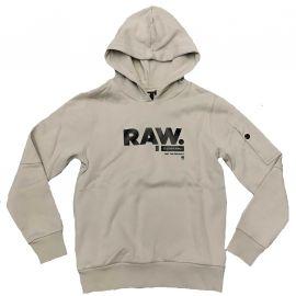 Sweat G STAR RAW gris clair OTR SR15086