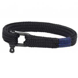 Bracelet PIG &HEN noir et bleu P16-90000