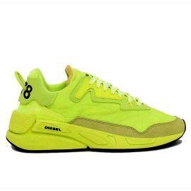 Chaussure Diesel femme S-SERENDIPITY jaune fluo