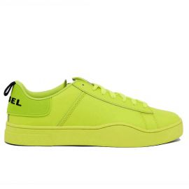 Chaussure DIESEL homme S-CLEVER jaune fluo