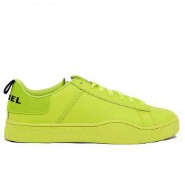 Chaussure DIESEL homme S-CLEVER jaune fluo