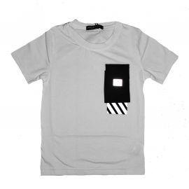 Ensemble short et Tee Shirt Reflechissant junior blanc BL-622-1