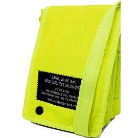 Saccoche DIESEL X07289 P3424 jaune fluo