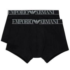 Pack X2 boxers EMPORIO ARMANI 111769 OA720 2382 noir