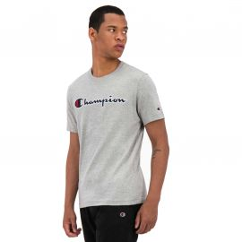 Tee shirt champion homme gris 214726