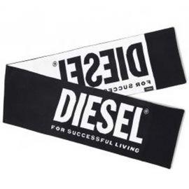 Echarpe Diesel noir et blanche 00J529