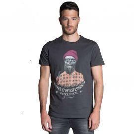 Tee shirt Hypster Deeluxe TELLSON gris