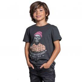 Tee shirt Hypster Deeluxe enfant TELLSON gris