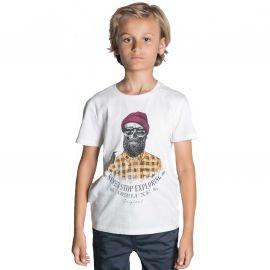 Tee shirt Hypster Deeluxe enfant TELLSON blanc