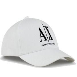 Casquette ARMANI EXCHANGE homme 954047 CC811 blanc