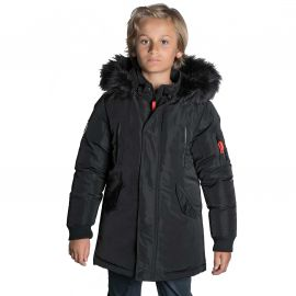 Parka junior noir deeluxe SHARKSON