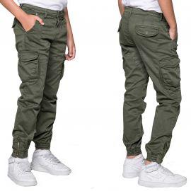 Pantalon cargo Deeluxe junior garden kaki