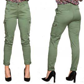 Pantalon Tess Deeluxe kaki