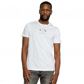 Tee shirt Armani exchange blanc 6HZTGM ZJH4Z