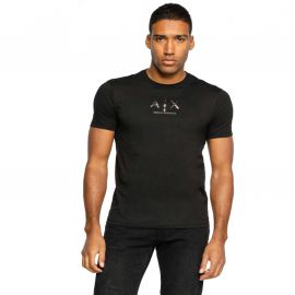 Tee shirt ARMANI EXCHANGE homme 6HZTGM ZJH4Z noir