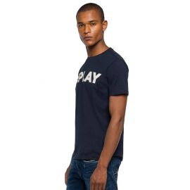 Tee-shirt REPLAY homme M3594.000.2660.576 bleu