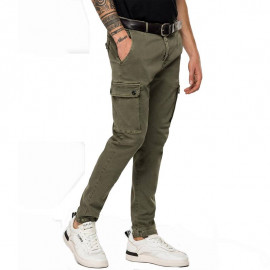 Pantalon REPLAY homme M9649.000.8166197.677 kaki
