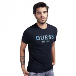 Tee-shirt homme GUESS MOBI59J1300 noir