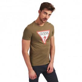 Tee-shirt homme GEUSS MOBI71I3Z11 kaki