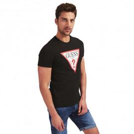 Tee-shirt homme GUESS MOBI71I3Z11 noir