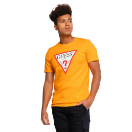 Tee-shirt homme GUESS MOBI71I3Z11 orange
