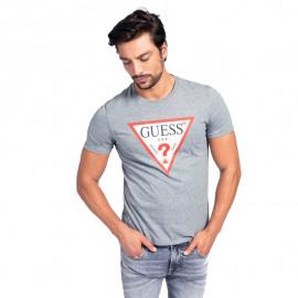 Tee-shirt homme GUESS MOBI713Z11 gris