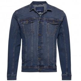 Veste en jeans homme BLEND 20710737 bleu