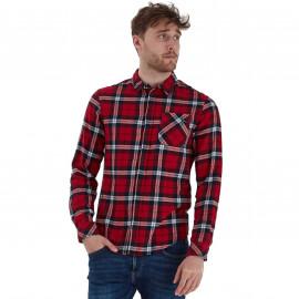 Chemise homme à carreaux rouge blend 20710784