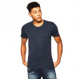 Tee-shirt homme GUESS MOGI54 bleu
