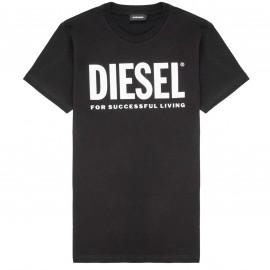 Tee shirt Diesel noir junior 00J4P6 NOIR