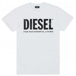 Tee shirt Diesel noir junior 00J4P6 BLANC