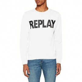 Sweat homme REPLAY M3666 blanc