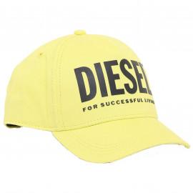 Casquette Diesel jaune 00J52F