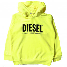 Sweat junior 00J4PP jaune DIESEL