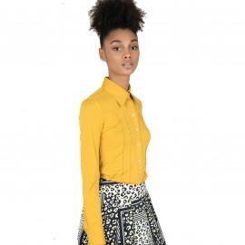 Chemise femme MOLLY BRACKEN TLV42A2 jaune