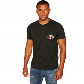 Tee shirt DIESEL homme A00628 0LAYY 900 noir