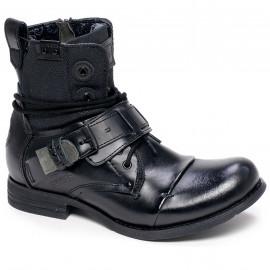 chaussure bunker noir SOZO SP1