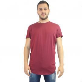 Tee shirt homme simple vert/noir/kaki/bordeaux/gris