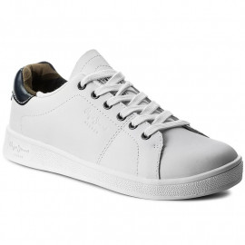 Basket pepe jeans junior blanche PBS30388