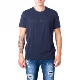 Tee shirt emporio armani bleu marine 110853 OA525 00135 BLEU