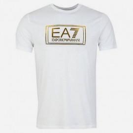 Tee-shirt homme Emporio Armani 6HPT51 PJM9Z blanc