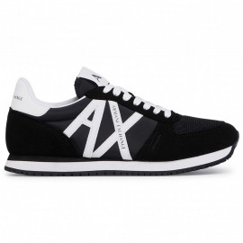 Basket Armani exchange noir et blanche XUX017 XV28