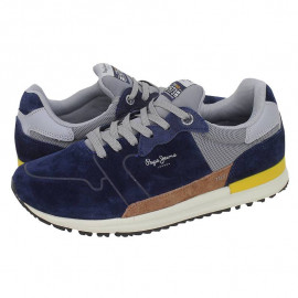 Chaussure homme PMS30582 595 PEPE JEANS bleu gris