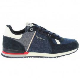 Chaussure junior PBS30318 SYDNEY bleu