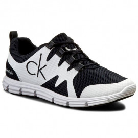 Chaussure homme CALVIN KLEIN SE8525 MURPHY noir blanc
