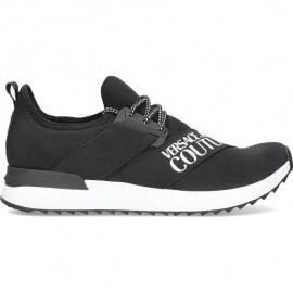 Chaussure homme VERSACE E0YUBSG1 noir blanc