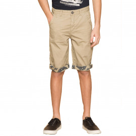 Short enfant junior beige Deeluxe Flickson