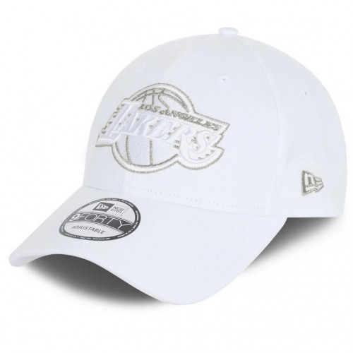 Casquette homme NEW ERA LAKERS 60112675 blanc
