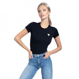 Tee-shirt femme GUESS W0BI19 noir