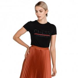 Tee-shirt femme W94L20 noir GUESS